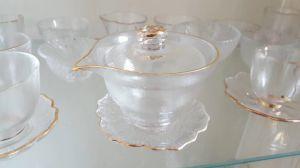 Hersteller, der materielle freie Glastee-/Wasser-Glascup verkauft