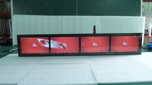 Dedi 선반 비전 전시 선수를 광고하는 다중 모니터 4.3inch*6screen 디지털 Signage LCD 영상 지구 바
