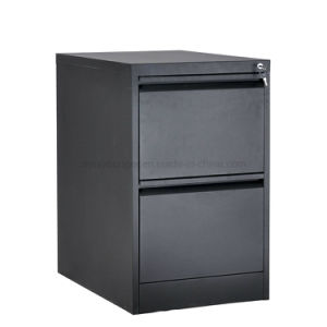 Gaveta 2 personalizados a extensão total de metal mesa de cabeceira seguro utilizar o Armário para armazenamento de arquivos de aço com bloqueio