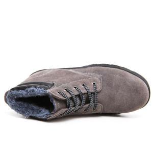 A mediados de cuero gamuza tobillo Zapatos de seguridad