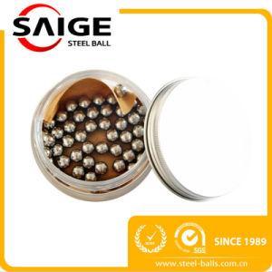 SGS / ISO Cert Bola de acero sólido de SS304