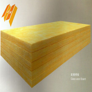 L'isolation thermique Insertion de couverture de laine de verre Épaisseur de panneau mural (20-80mm)