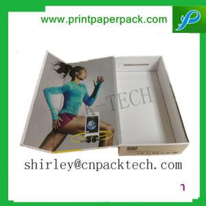 장방형 마분지 전자공학 선물 수송용 포장 상자를 주문을 받아서 만드십시오