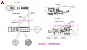 Frantoio del cono di China Mobile di alta efficienza