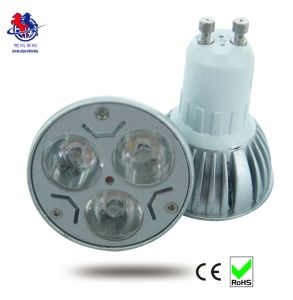 LED Spot Light GU10 3*1W Spot Light 6400k/2700k