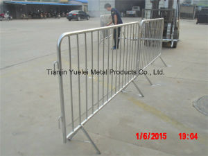 El control de multitudes de la barrera peatonal/extraíble de la barrera de control de multitudes/Metal barreras de seguridad