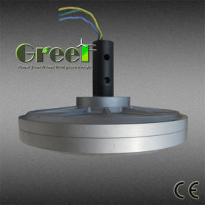 generatore di vento a magnete permanente di Coreless RPM del peso basso basso basso di coppia di torsione di 1000W 1kw 150rpm, generatore assiale di Coreless di cambiamento continuo