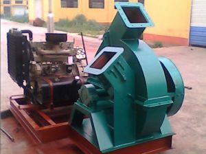 ディーゼル機関を搭載するBogenのブランドの移動式タイプ木製の砕木機