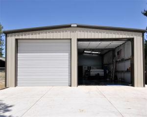 Pórtico de prefabricados de estructura de acero de la luz de la construcción de almacén