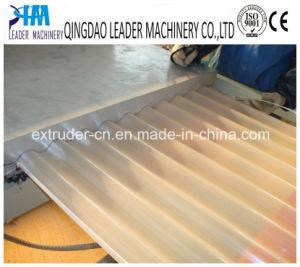 Tôle de toit ondulé PMMA PVC carrelage vitrifié Ligne d'extrusion de la machine