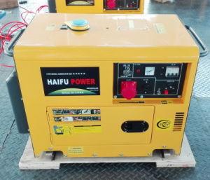 6.5kVA de lucht koelde de Enige Diesel van de Cilinder Draagbare Stille Reeks van de Generator
