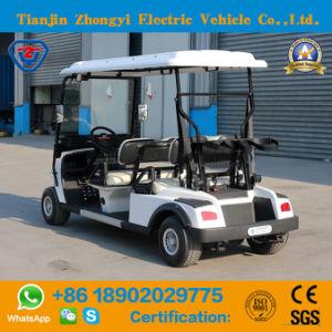 Alimentado por bateria 4 Passageiros mini-Golf Cart para Resort