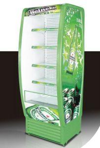 Il Ce ha approvato gli armadietti di esposizione refrigerati bevande anteriori aperte del supermercato