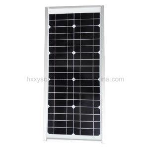 15W LEDの統合された太陽道の庭のヤードの街灯