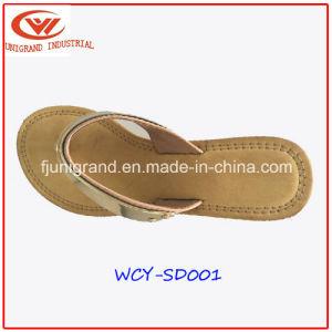 Haut de façon occasionnelle de filtre en coin chaussures sandales Toe Clip avec des femmes