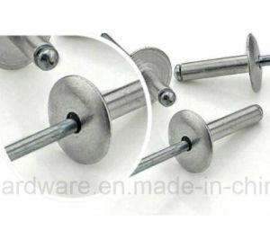 Mm mm M5/58~25extra grande de la brida (16mm) de aluminio de remaches de cabeza de remache ciego abierto