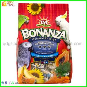 Aliments pour animaux de qualité alimentaire Stand up sac d'emballage en plastique