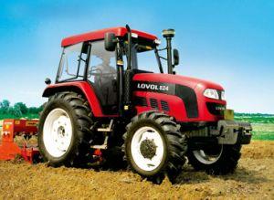 Tractor van het de verkoopLandbouwbedrijf van Lovol 82HP de Hete met Uitstekende kwaliteit