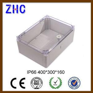 IP66 пластиковый водонепроницаемый электрического кабеля связи распределительная коробка 400*300*160