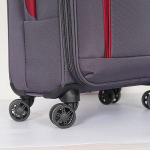 2019 Chariot polyester classique Soft EVA bagages de voyage