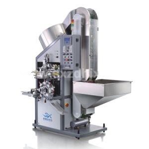 Tapones Automática de Botellas de plástico y aluminio Máquina de estampación en caliente (superior) para la impresión de la tapa del vaso de vino
