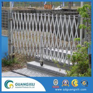 アルミニウム一時塀の拡張可能安全バリア