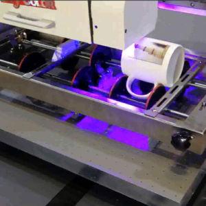 プラスチックUSB/Glass/Pen/CDのためのアクリルPVC革金属木紫外線デジタル平面プリンター