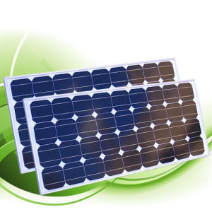 A Solar 100watt constituídos off-grid PV Painel Solar