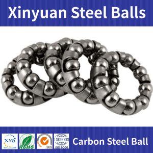 1/8の引出しは炭素鋼の球を滑らせる