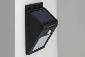 Outdoor Wireless alimentada a energia solar do Sensor de movimento 6 Luz de parede de Segurança LED