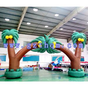 屋外のCoconut Inflatable ArchかInflatable Advertizing Arch