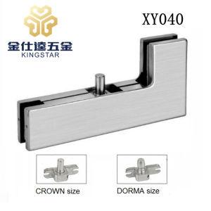 Xy040 Adaptador de la puerta de cristal de la esquina Sidelite Overpanel parche apenas con pivote