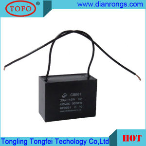 25ОФ проводки потолочный вентилятор Sh конденсатор Cbb61 250 В пост. тока