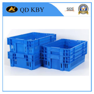Encajables reversible Insertable y apilables cajas de almacenamiento de plástico