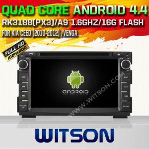 Carro DVD do sistema do Android 4.4 de Witson para KIA Venga (W2-A6744K)