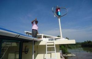 600W24V Maglev sistema generador de energía eólica para uso doméstico