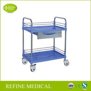 E-30 het medische Meubilair staal-Plastic Trolley&#160 van het Ziekenhuis van de Apparatuur;