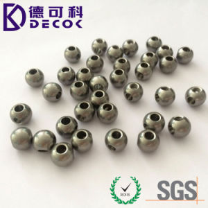Buon Quality 0.8mm Drilled Stainless Steel Solid Ball con Hole