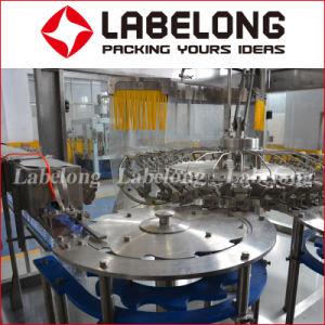 Enchimento de Bebidas Automático Labelong máquinas de embalagem