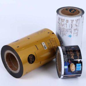 Impreso de alta calidad de lámina de aluminio de plástico envases de alimentos Film