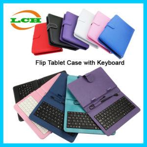 Flip tableta Universal caso con el teclado para iPad 2 Aire