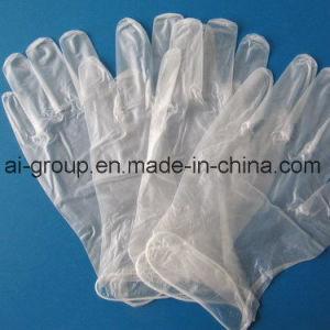Transparente de PVC de color claro desechables guantes de seguridad Guantes de nitrilo Guante Powder-Free PE Hogar Guantes Guantes Guantes desechables de vinilo en Food Grade