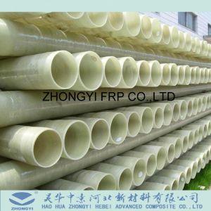 El tubo de fibra de vidrio de tuberías de proceso químico de FRP en China