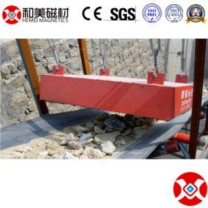 Tipo asciutto sospensione della macchina del nastro trasportatore di estrazione mineraria che appende separatore elettromagnetico