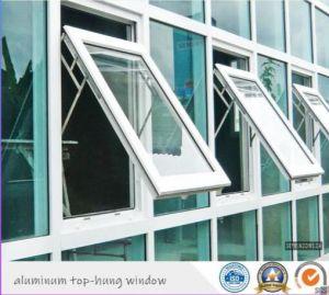 Ventana toldo aluminio/aluminio Ventana para la decoración de interiores y exteriores