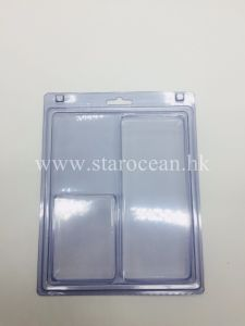 Pacchetto di bolla di plastica del PVC, imballaggio su ordinazione della copertura superiore della bolla dell'azionamento dell'istantaneo del USB