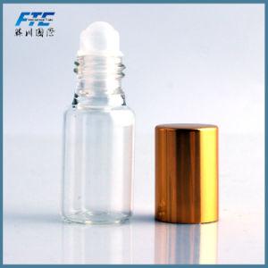 Vidrio de 10ml frasco de perfume recargables al por mayor de rollos de la botella