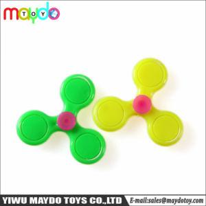 Het nieuwe Kleine Plastic Speelgoed van de Giften van de Jonge geitjes van de Vinger van het Stuk speelgoed Mini Spinnende