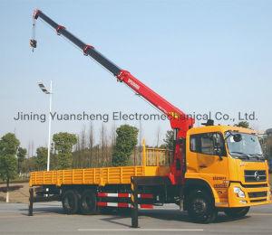 Fabricante de China 2 tonelada recogida hidráulica móvil Grúa pluma telescópica montada para la venta