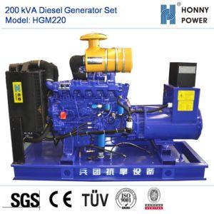 200kVA Googol 엔진 50Hz를 가진 디젤 엔진 발전기 세트